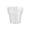 لیوان یکبار مصرف مدل آرین رنگ شفاف طب پلاستیک