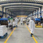 بازدید از فاز جدید کارخانه طب پلاستیک (1)