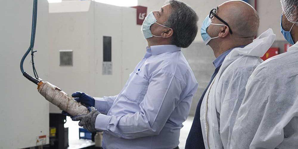 بازدید از فاز جدید کارخانه طب پلاستیک (6)