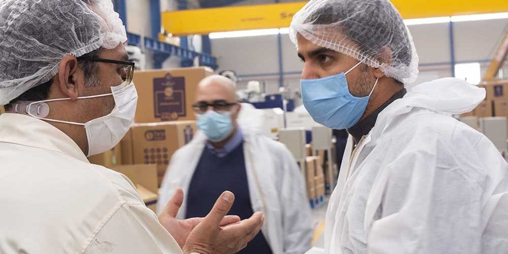 بازدید از فاز جدید کارخانه طب پلاستیک (9)